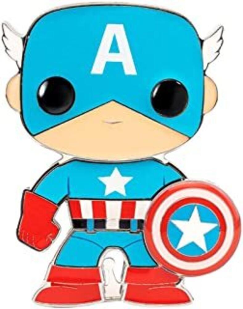 - Captain America (Pin) (Vfig)