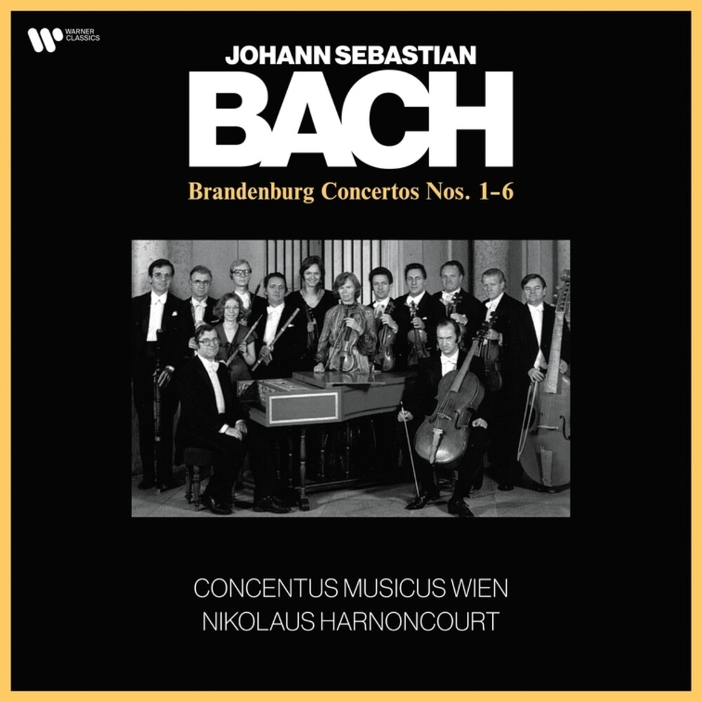 Nikolaus Harnoncourt  / Concentus Musicus Wien - Bach: The Brandenburg Concertos