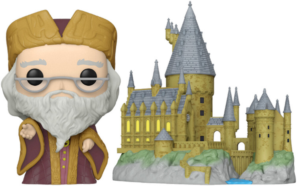 Funko Pop! Town: - Harry Potter Anniversary- Dumbledore W/Hogwarts