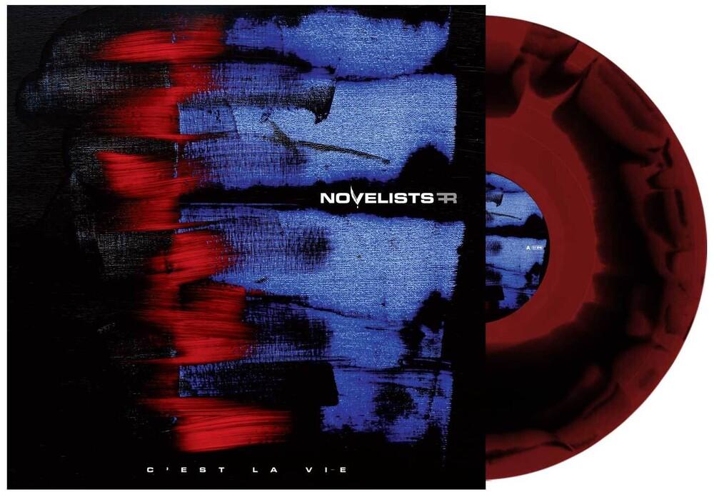 - C'est La Vie (Red & Black Swirl)