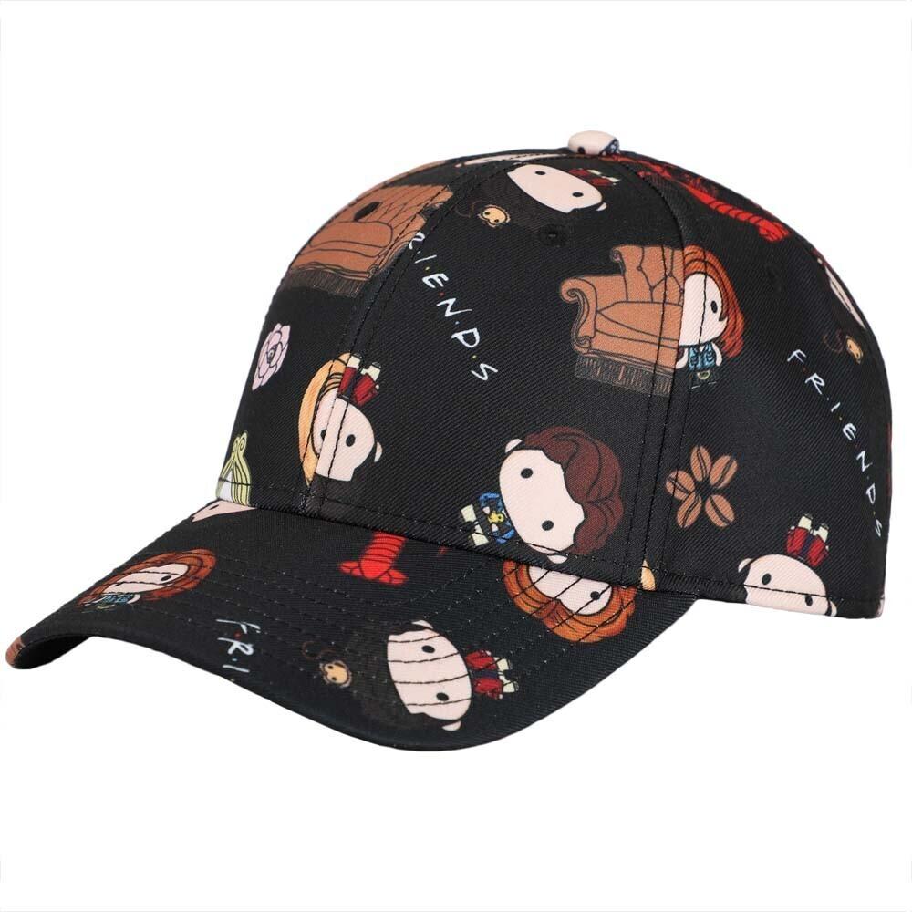 - Friends Chibi Aop Character Sb Baseball Cap (Hat)