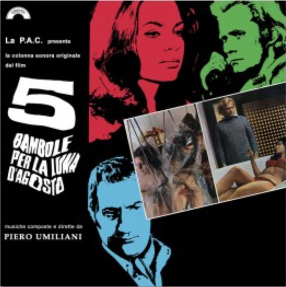 Piero Umiliani  (Cvnl) (Ltd) (Ogv) (Ita) - 5 Bambole Per La Luna D'agosto / O.S.T. [Clear Vinyl]