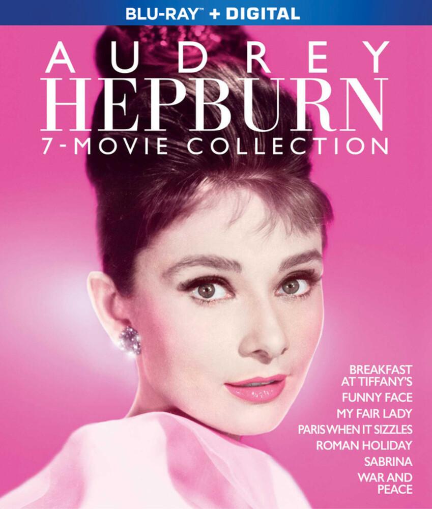 Audrey Hepburn 7-Film Collection - Audrey Hepburn 7-Film Collection (7pc) / (Box Ac3)