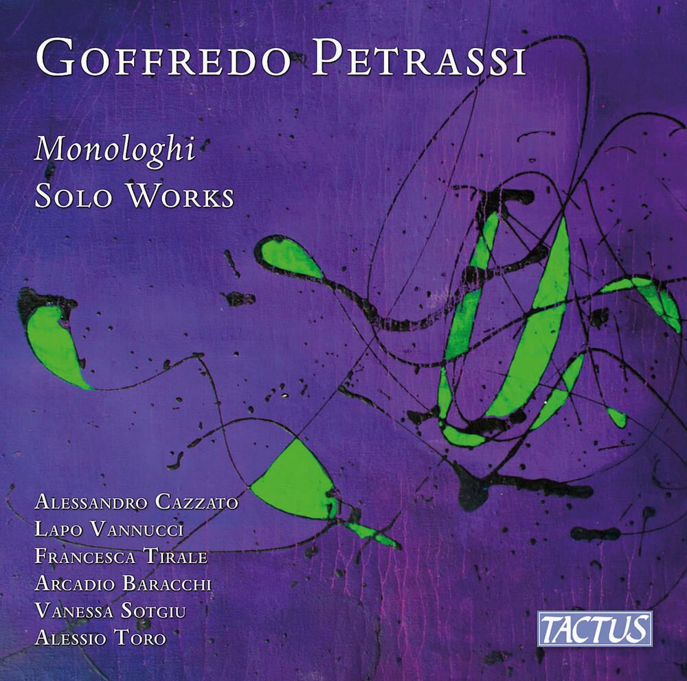 Petrassi / Cazzato / Sotgiu - Monologhi