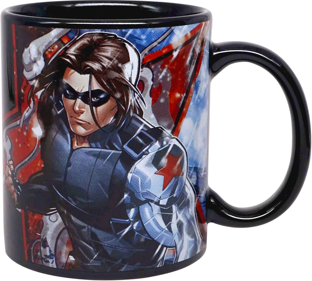 Marvel Winter Soldier Classic Mug (11 Oz) - Marvel Winter Soldier Classic Mug (11 Oz) (Mug)