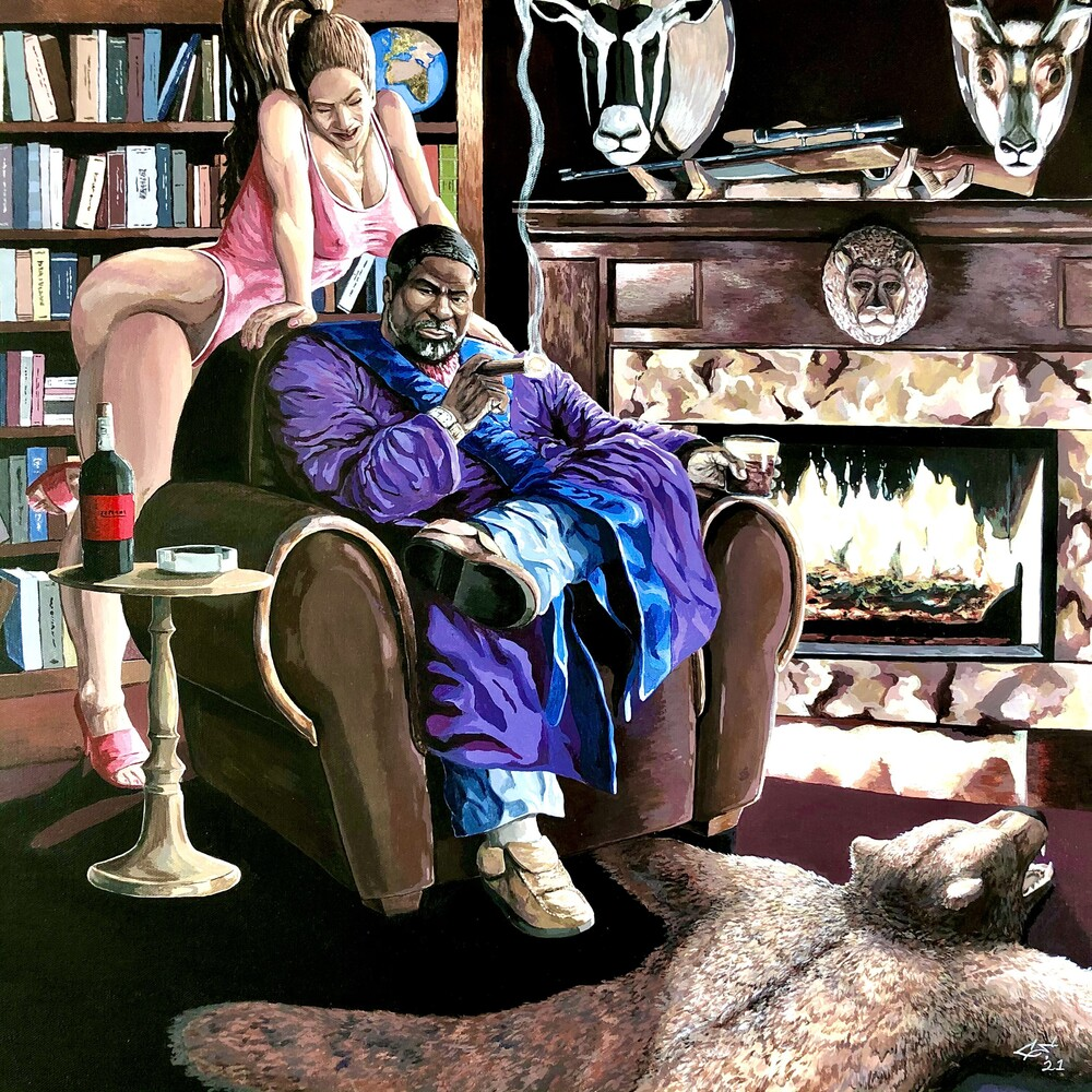 Da Buze Bruvaz Presents Him Lo X Giallo Point - EBENEZER MAXWELL (International Man of Leisure) (L