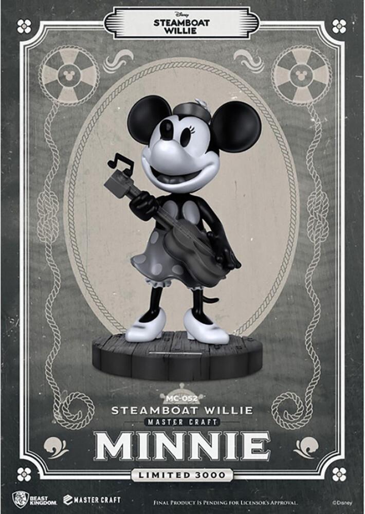 Beast Kingdom - Steamboat Willie Mc-052 Minnie Master Craft Statue