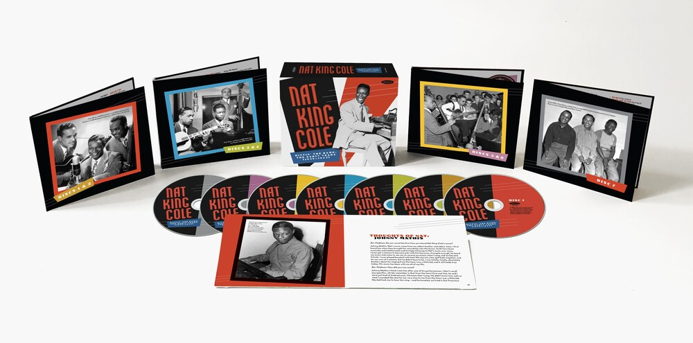 Nat King Cole - Hittin' The Ramp: The Early Years 1936-1943 [7 CD]