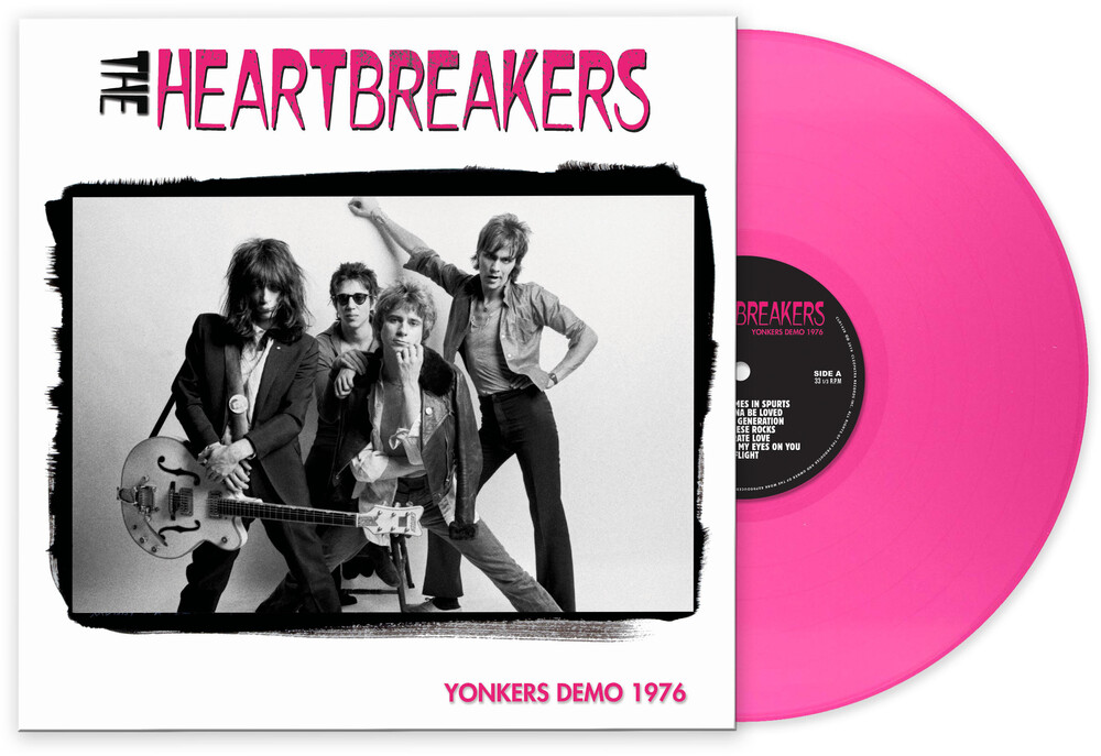 Johnny Thunders/Johnny Thunders & the Heartbreakers - Yonkers Demo 1976 [Pink LP]