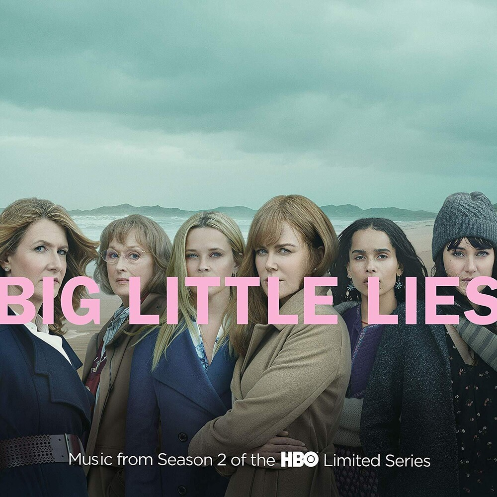 Various Artists - Big Little Lies [Music From Season 2 of the HBO Limited Series Indie Exclusive Limited Edition Pink 2LP]