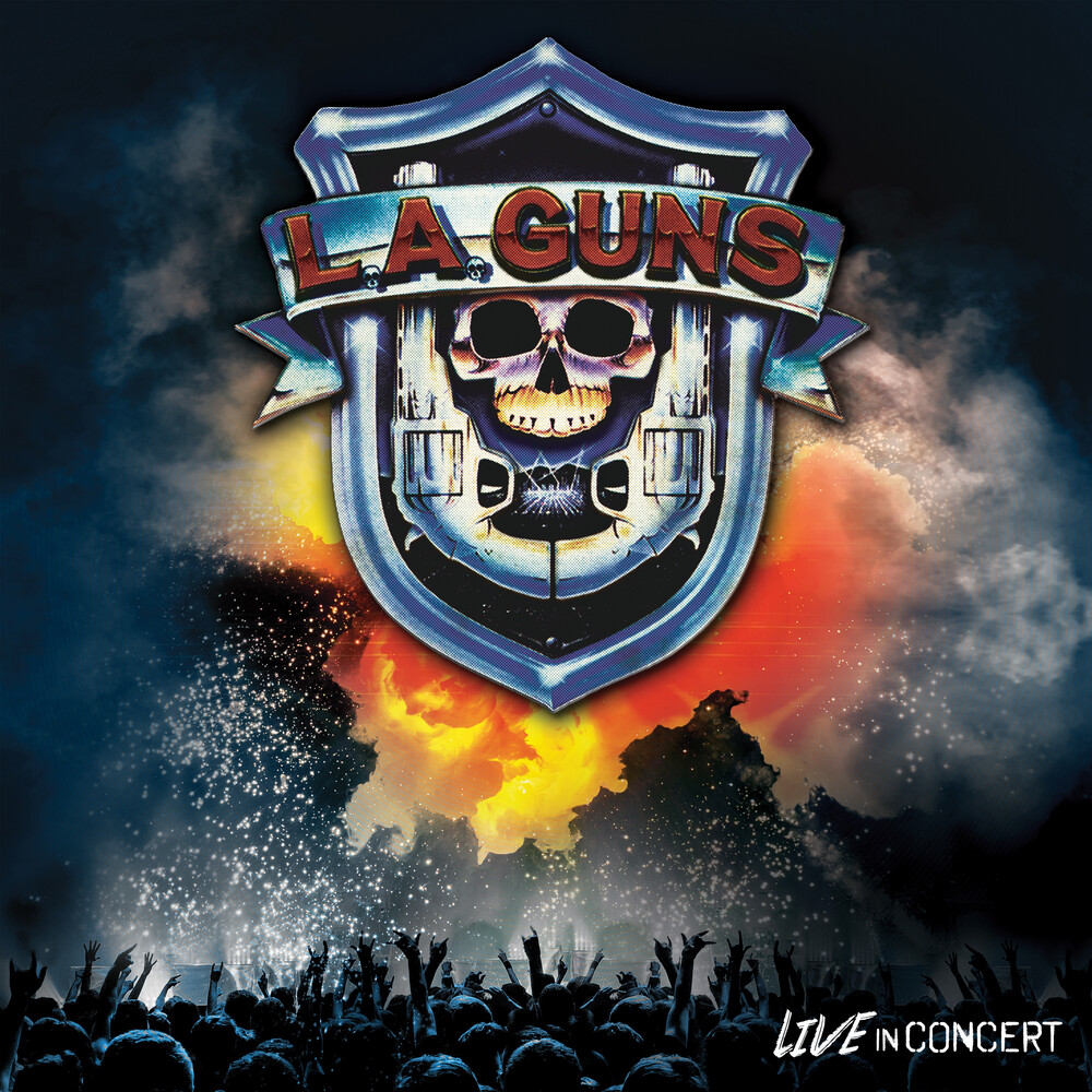 L.A. Guns - Live In Concert [Limited Edition Red LP]