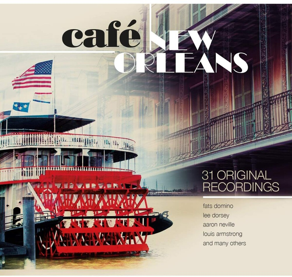 - Cafe New Orleans / Various (Hol)