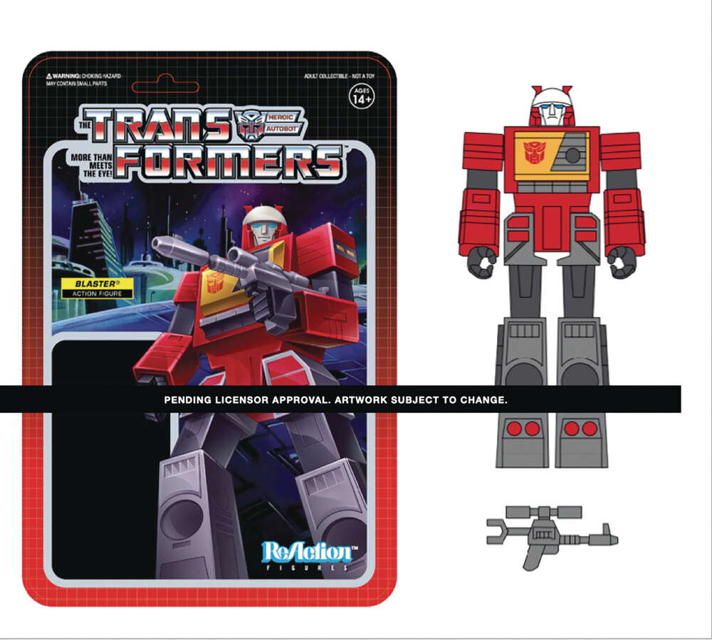 Transformers Reaction Wave 3 - Blaster - Transformers ReAction Wave 3 - Blaster