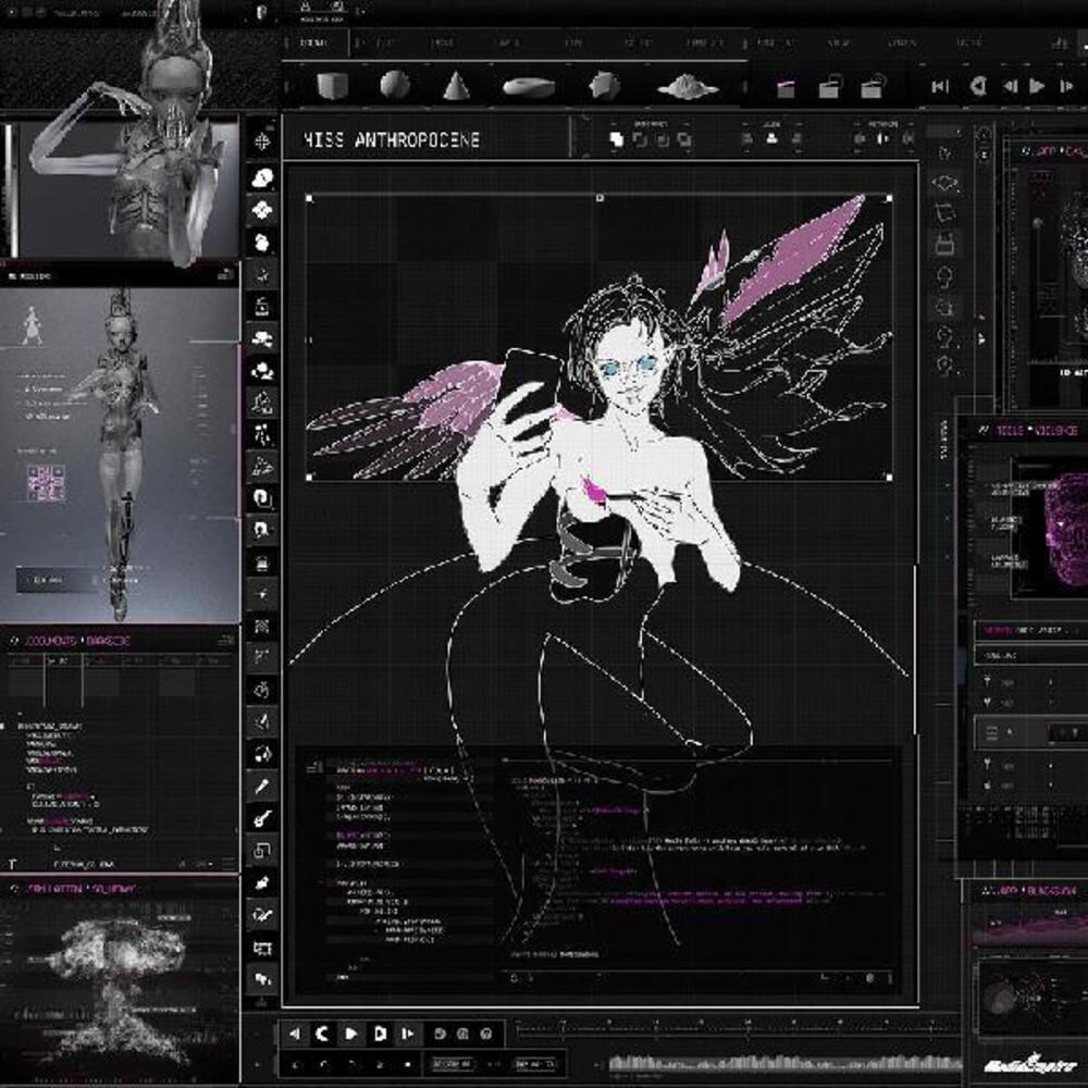 Grimes - Miss Anthropocene [Indie Exclusive Limited Edition Translucent Pink LP]