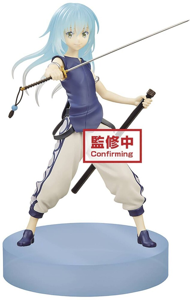 Banpresto - BanPresto That Time I Got Reincarnated as a Slime Clear Material Rimuru Tempest Espresto Figure