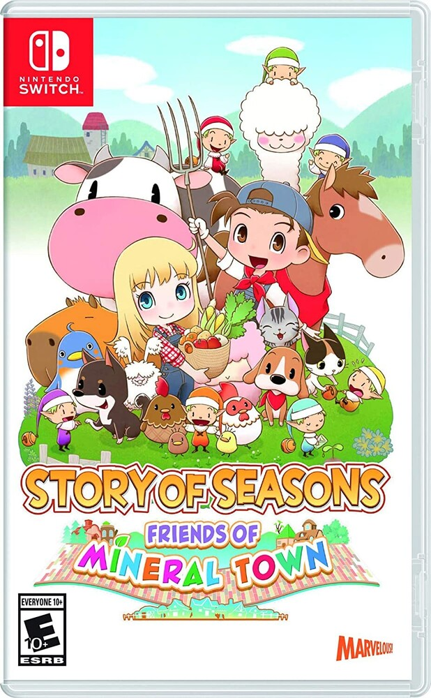 Swi Story of Seasons: Friends of Mineral Town - Story of Seasons: Friends of Mineral Town for Nintendo Switch