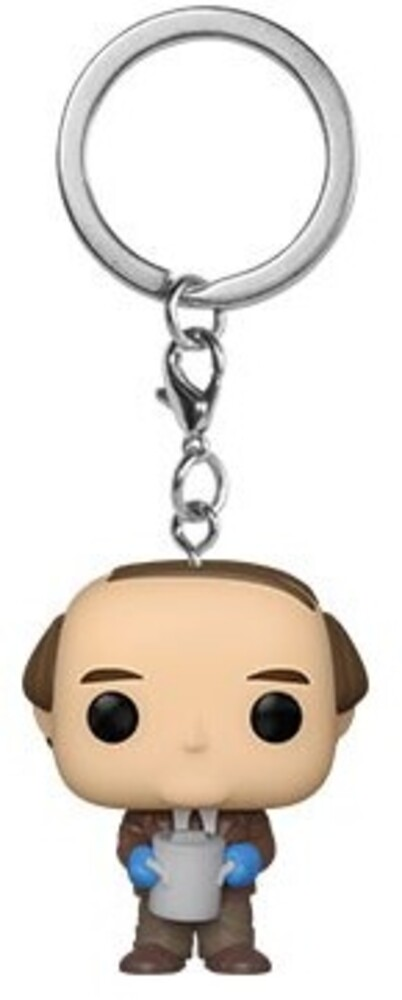 - FUNKO POP! KEYCHAIN: The Office- Kevin w/Chili