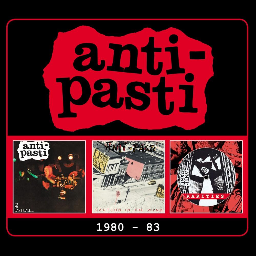 Anti-Pasti - 1980-1983 (Uk)