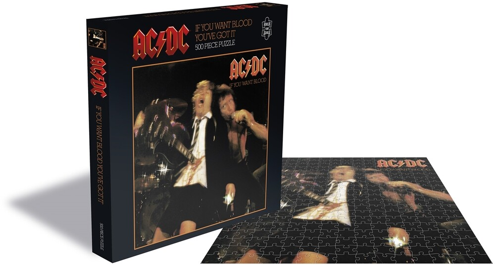 - AC/DC If You Want Blood (500 Piece Jigsaw Puzzle)