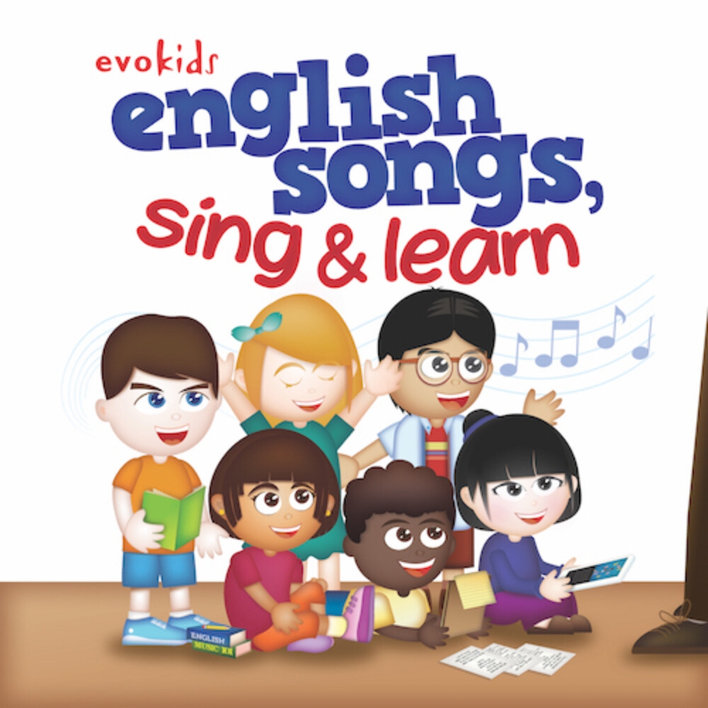 evokids - English Songs Sing & Learn (Mqa-Cd)