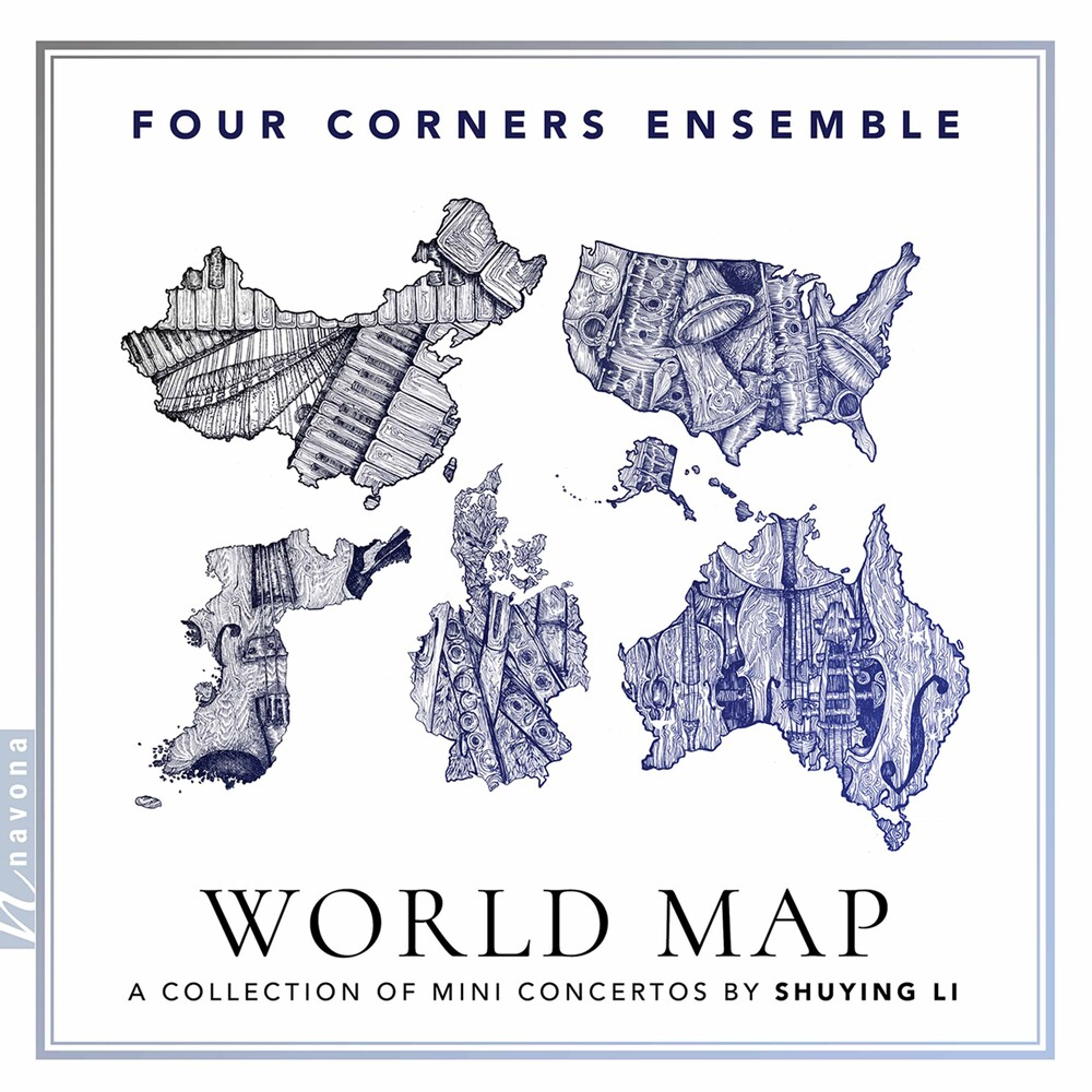 Li / Four Corners Ensemble - World Map