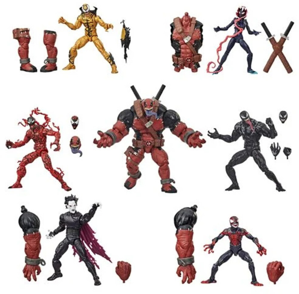 Mvl Venom Legends Ast - Hasbro Collectibles - Marvel Legends Venom Assortment (with build a figure)