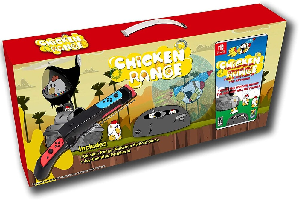 Swi Chicken Range Bundle - Chicken Range - Bundle for Nintendo Switch