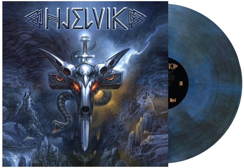 Hjelvik - Welcome To Hel (Dark Blue Swirl) [Limited Edition LP]
