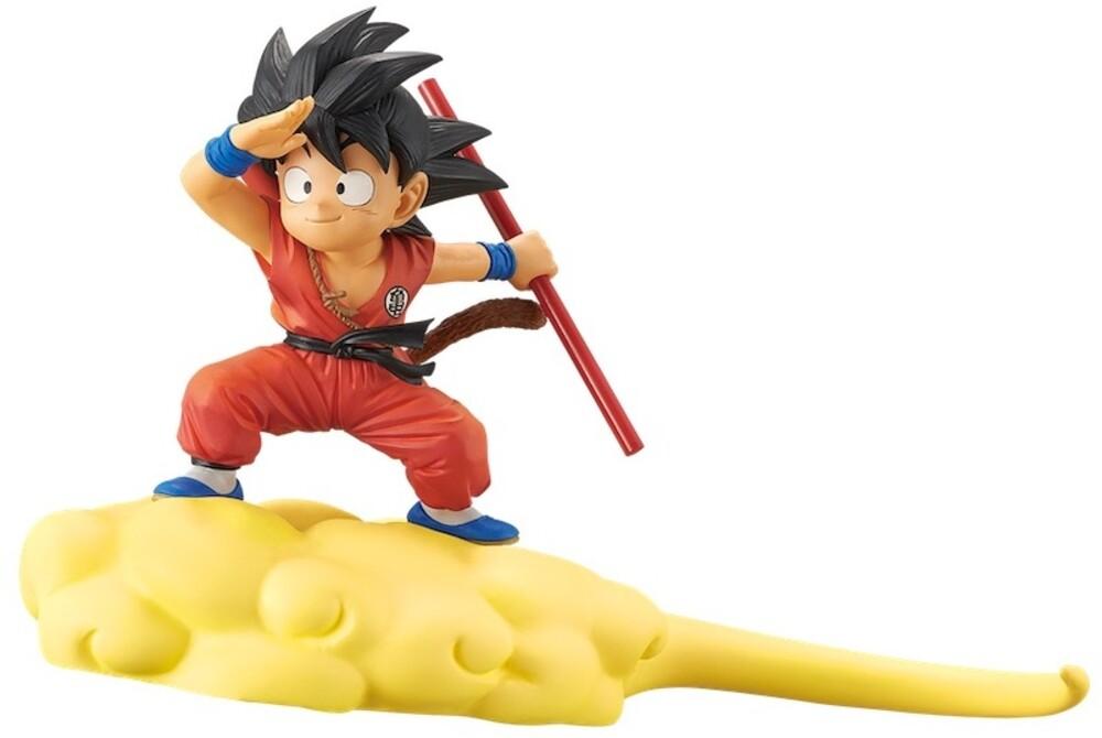 Banpresto - BanPresto - Dragon Ball Goku & Flying Nimbus Figure Version 1