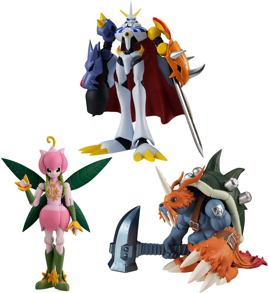 Bandai Shokugan - Bandai Shokugan - Digimon - Shodo Digimon Adventure 3 (Box of 6)