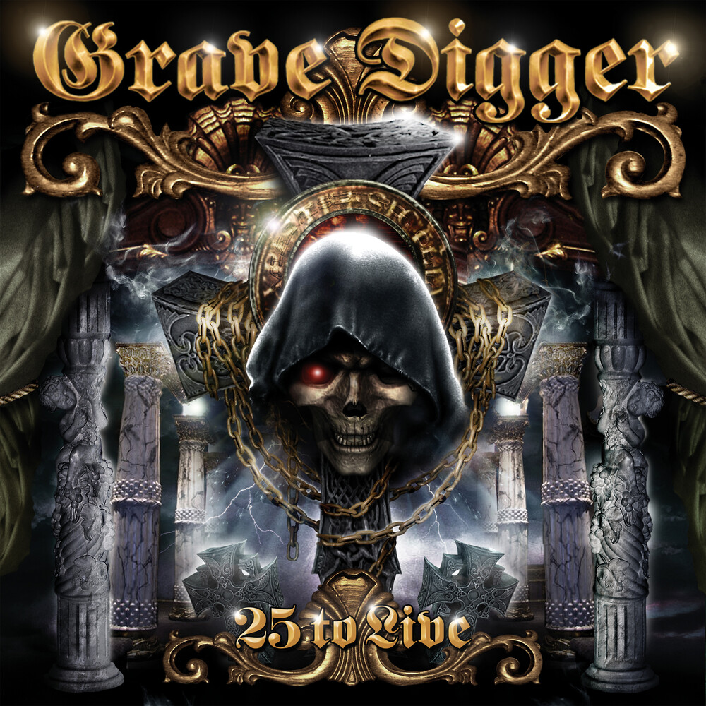 Grave Digger - 25 To Live (W/Dvd)