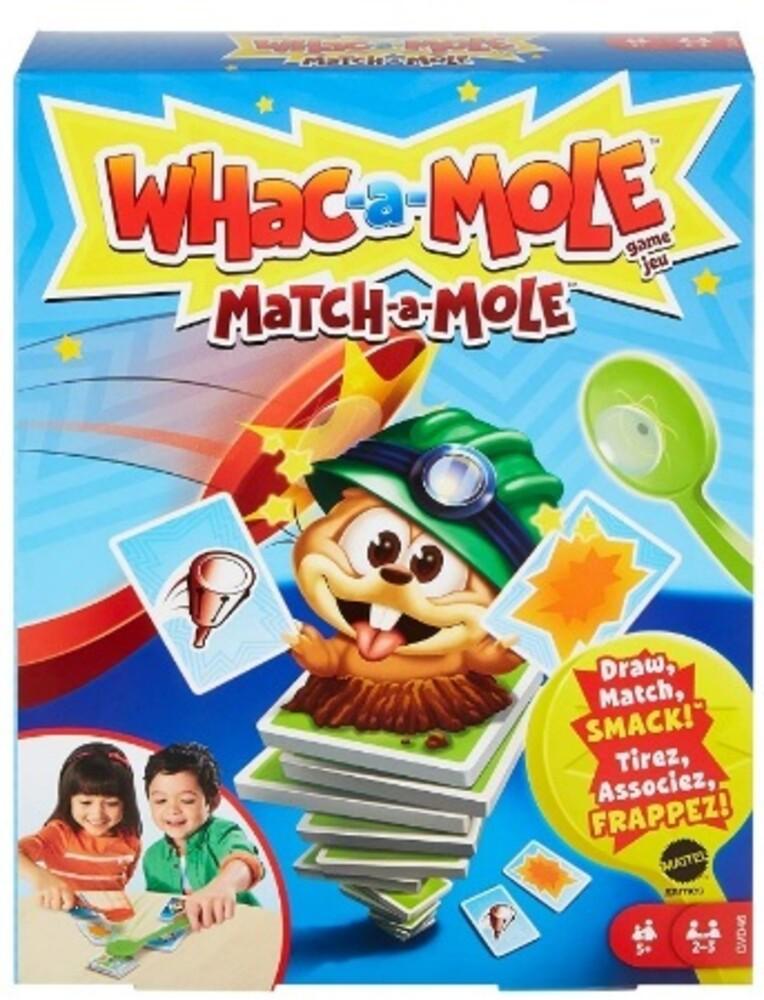 Games - Mattel Games - Whac-A-Mole Match-A-Mole