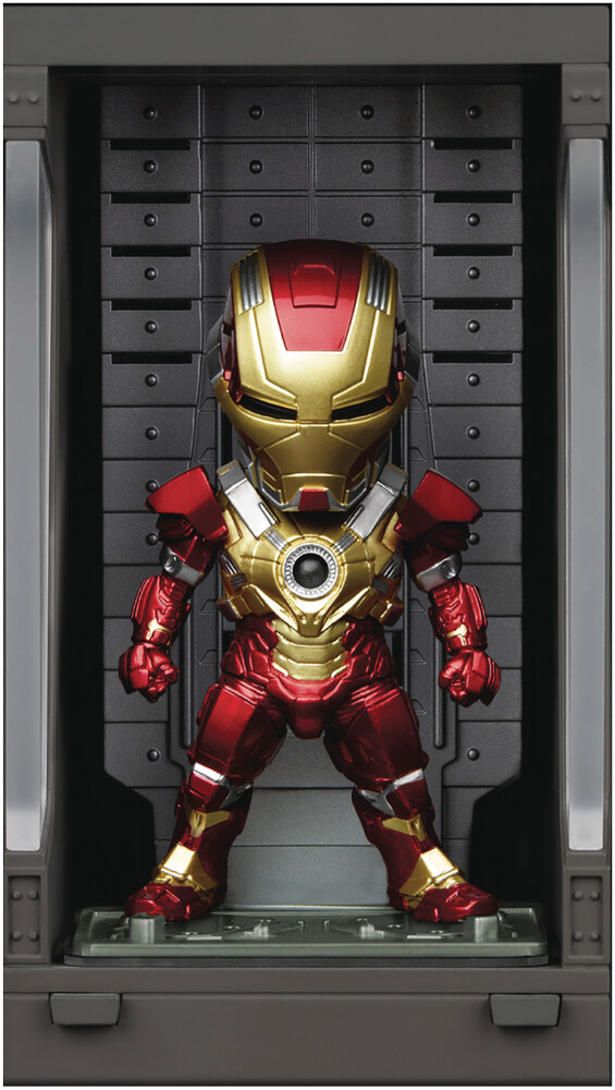 Beast Kingdom - Beast Kingdom - Iron Man 3 MEA-022 Iron Man Mk XVII With Hall Of ArmorFigure