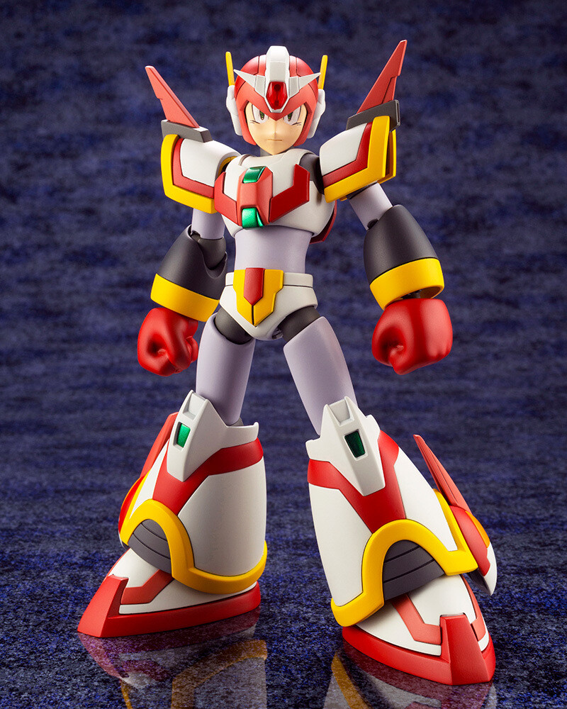 Mega Man X Force Armor Rising Fire Version - Mega Man X Force Armor Rising Fire Version