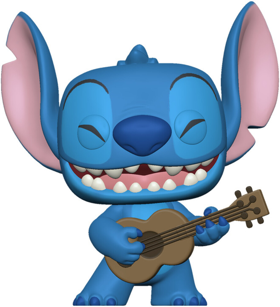 - FUNKO POP! DISNEY: Lilo & Stitch- Stitch w/Ukelele
