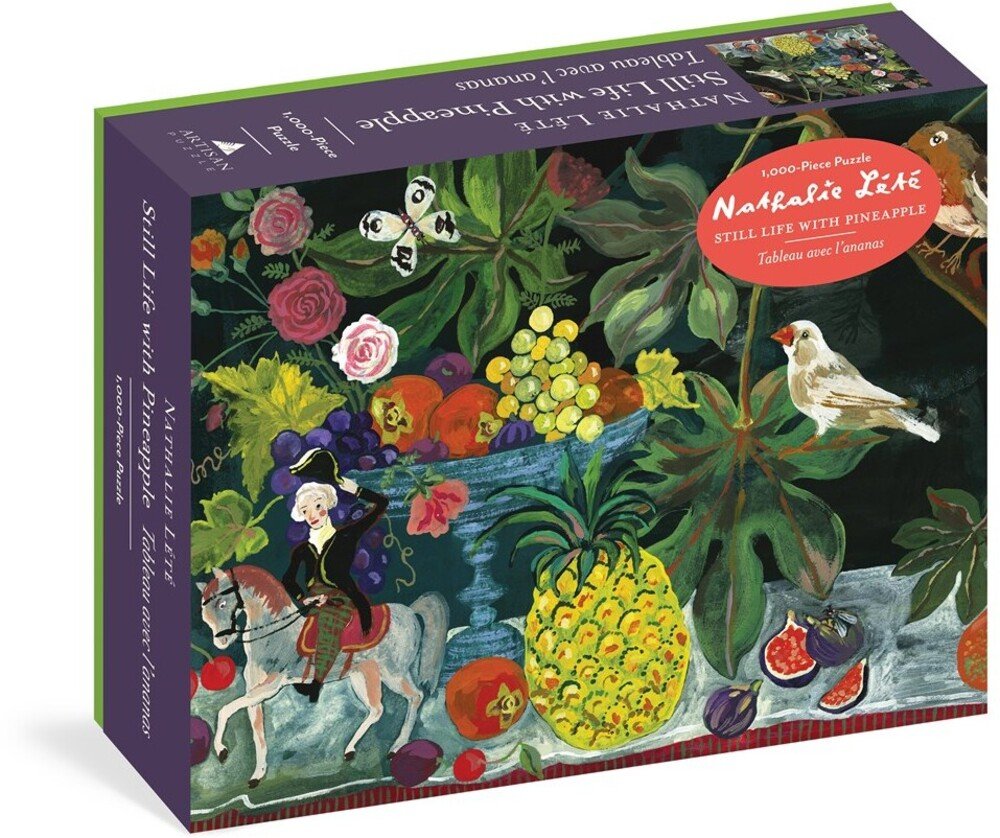 Lete, Nathalie - Nathalie Lete: Still Life with Pineapple 1,000-Piece Puzzle