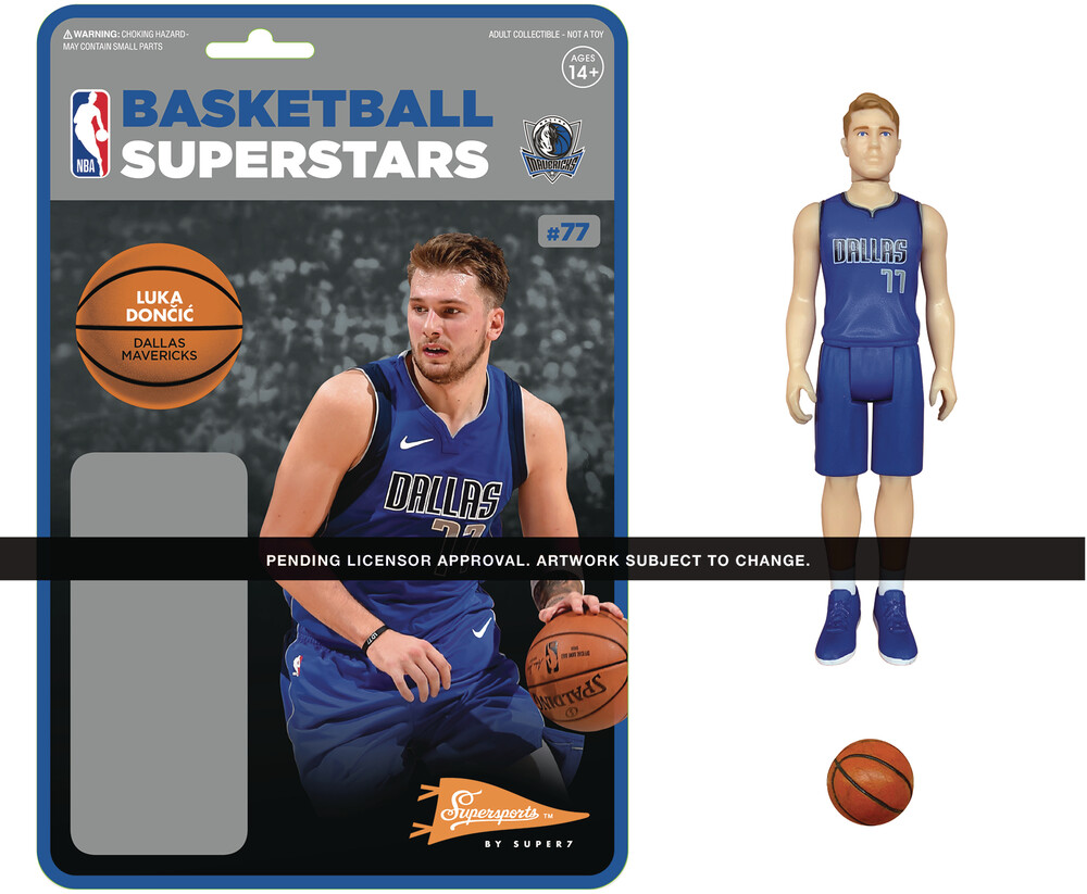 NBA Reaction Figure - Luka Doncic (Mavericks) - Nba Reaction Figure - Luka Doncic (Mavericks)