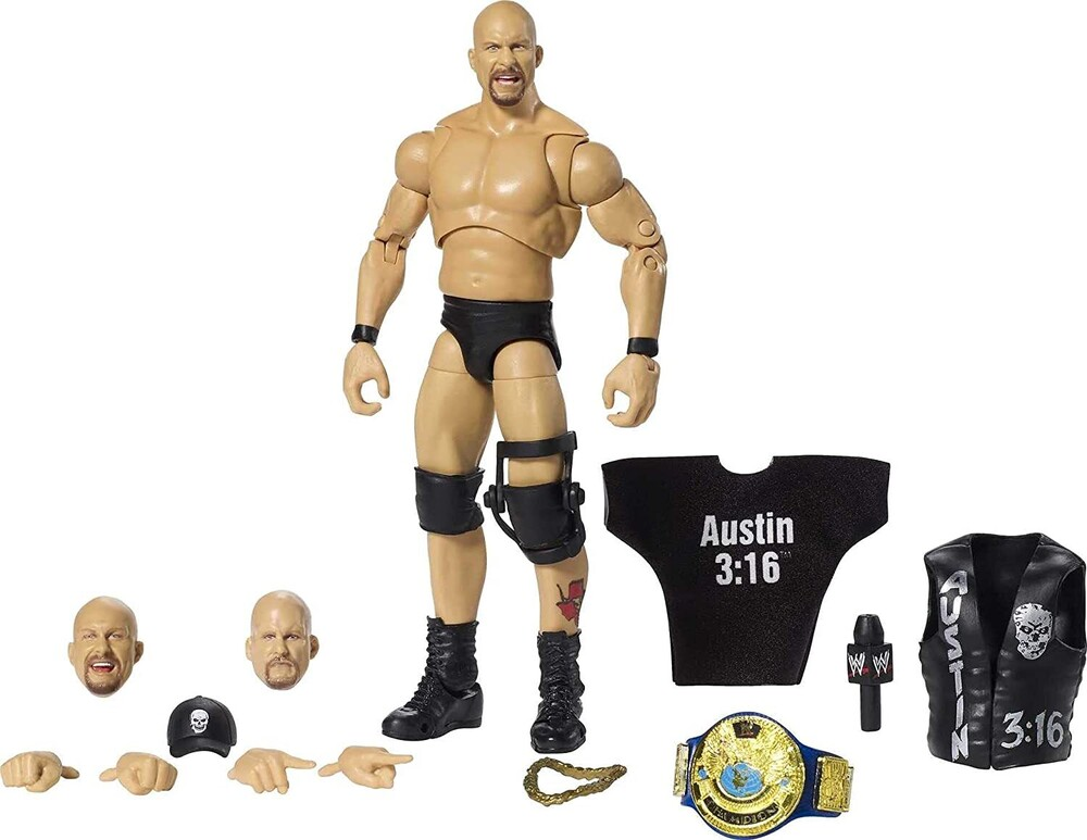 WWE - Mattel Collectible - WWE Ultimate Elite Stone Cold Steve Austin