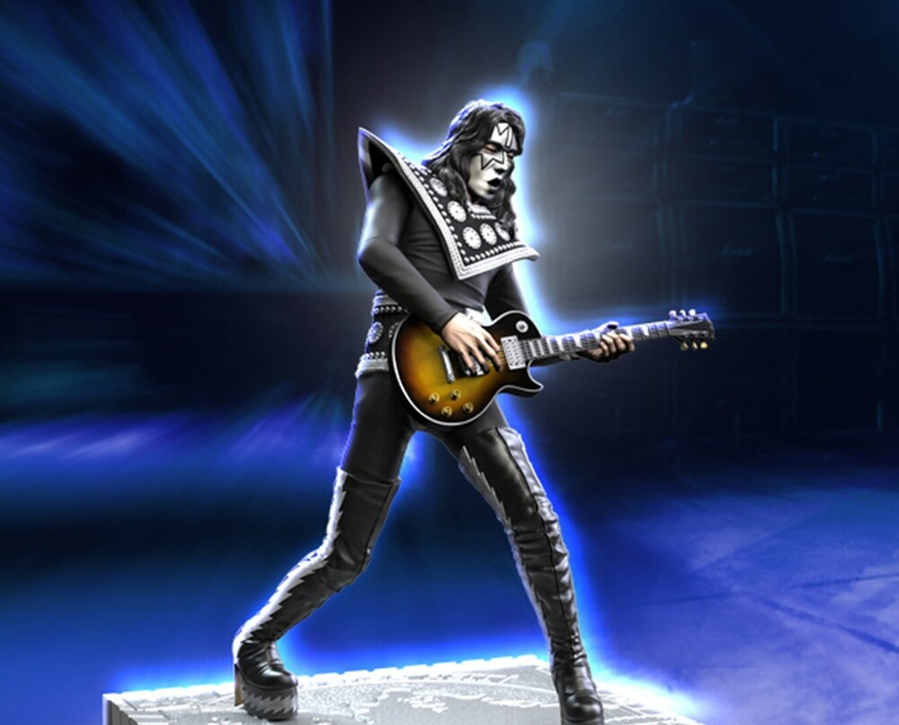 - Knucklebonz - KISS Ace Frehley (HTH) Rock Iconz Statue