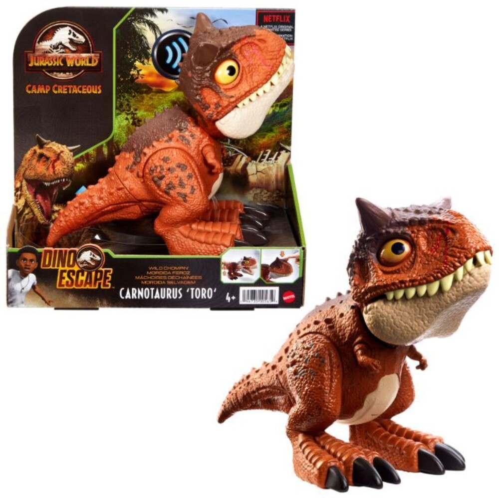 Jurassic World - Mattel - Jurassic World Chompin' Carnotaurus