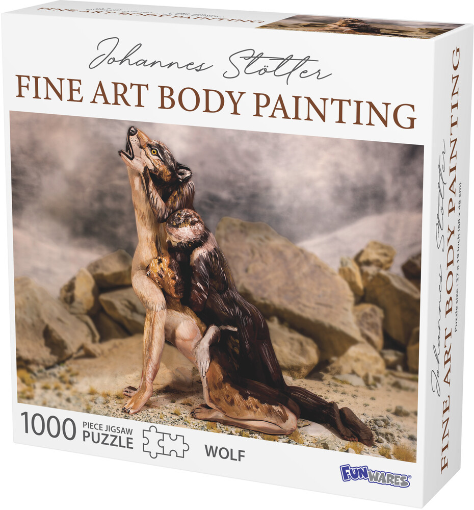 - Funwares Johannes Stotter Wolf Body Art Puzzle