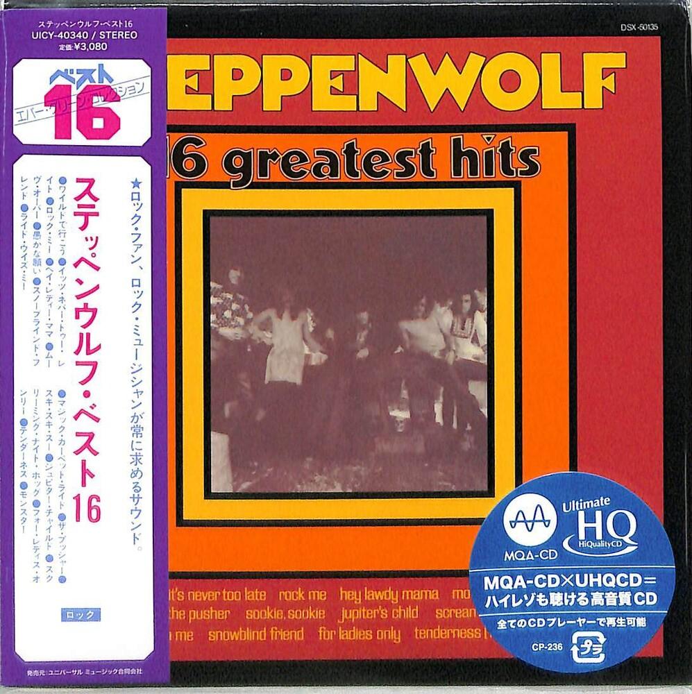 Steppenwolf - 16 Greatest Hits [Limited Edition] (24bt) (Mqa) (Hqcd) (Jpn)