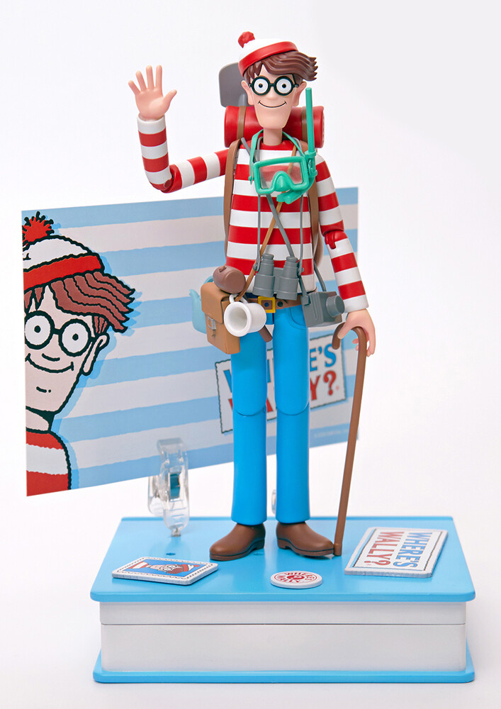 - Where's Waldo? - Waldo 1/12th Scale Af (Deluxe)