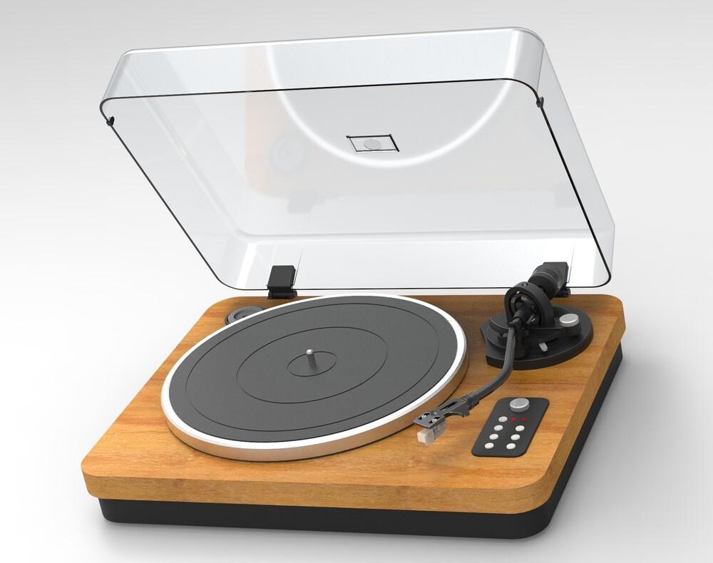 Ilive Ittb401Dw Bluetooth Turntable Wood Deck Brwn - Ilive Ittb401dw Bluetooth Turntable Wood Deck Brwn