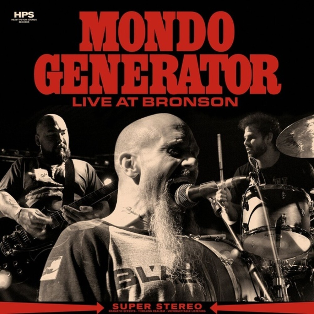 Mondo Generator - Live At Bronson [Clear Vinyl]