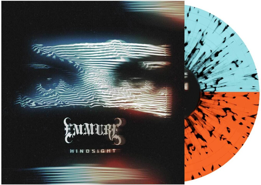 - Hindsight (Orange & Blue w/ Black Splatter)