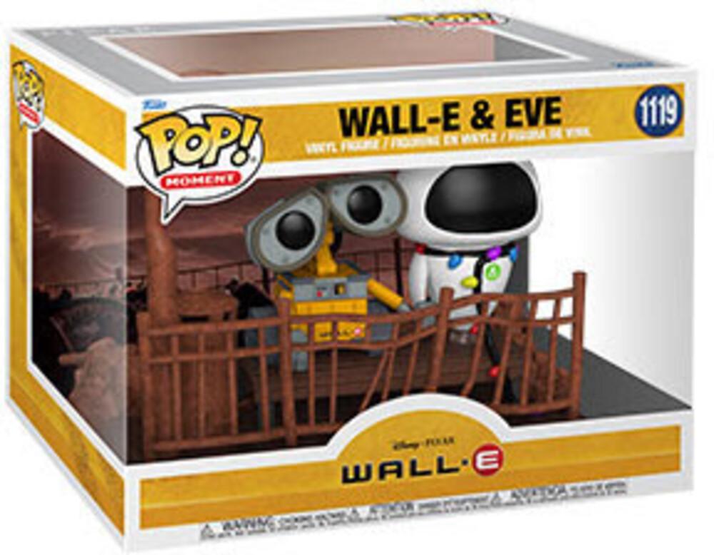 Funko Pop! Moment: - Wall-E- Wall-E & Eve (Vfig)