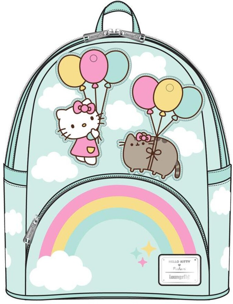 Loungefly Pusheen: - X Hello Kitty Balloons & Rainbow Mini Backpack