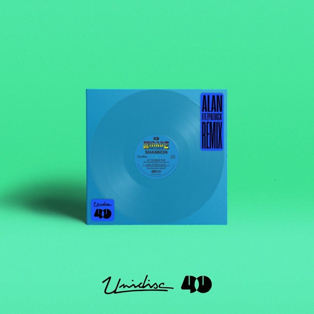 Shannon - Let The Music Play (Alan Fitzpatrick Remix) (Blue)