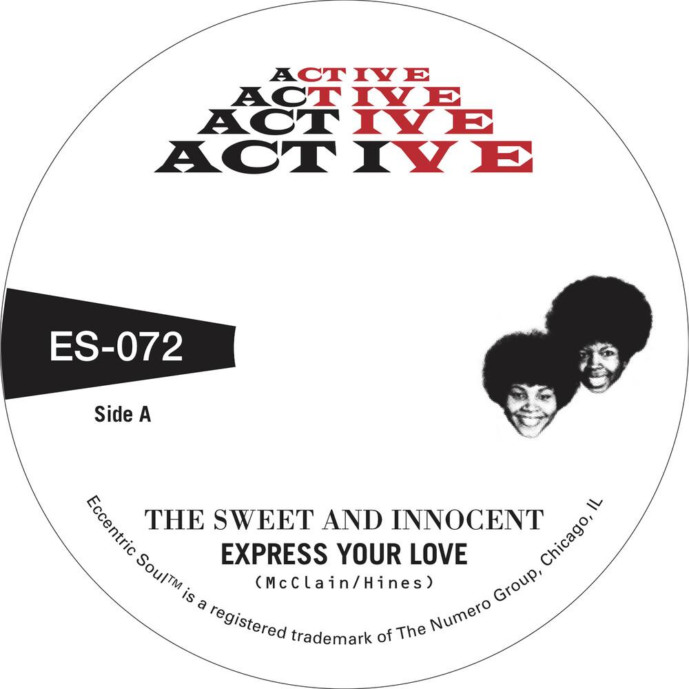 Sweet & Innocent & The Memphis Mustangs - Cry Love [Indie Exclusive] [Colored Vinyl] (Gol) [Indie Exclusive]